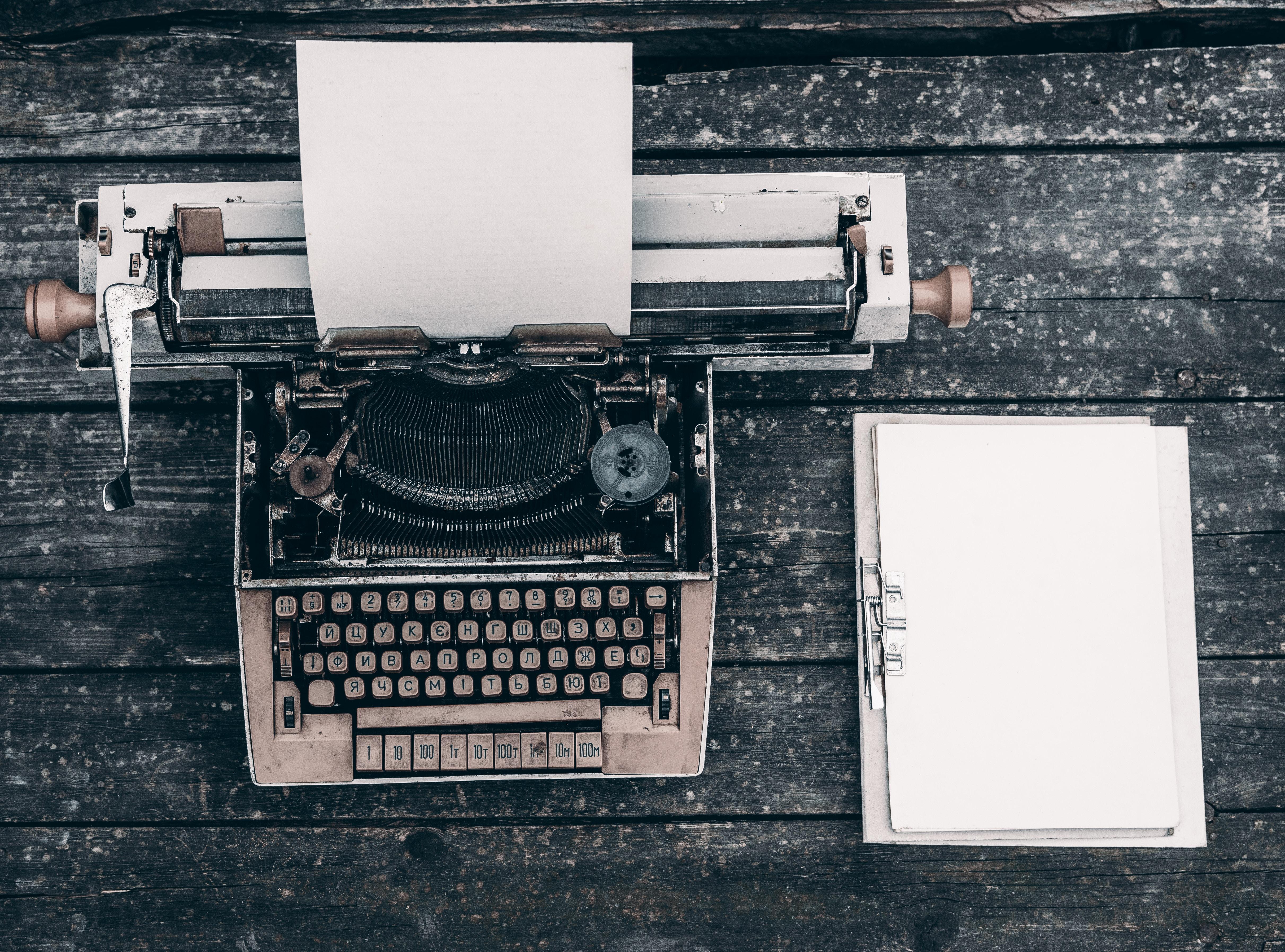 Schrijven, auteursrecht
